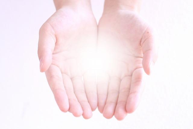 手のひらの癒し