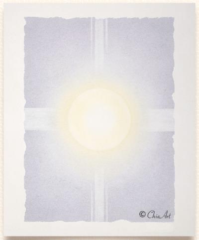 Chieさんのアート「誓詞」