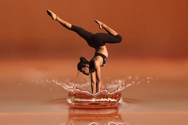 水上のダンス