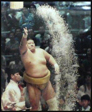水戸泉の塩