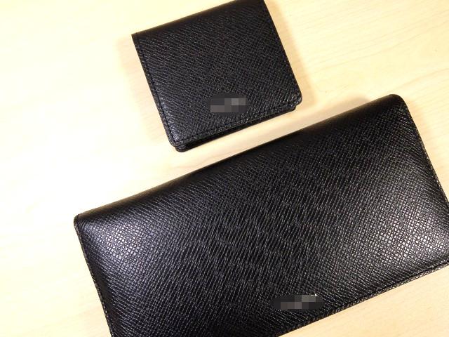 新しく買った財布