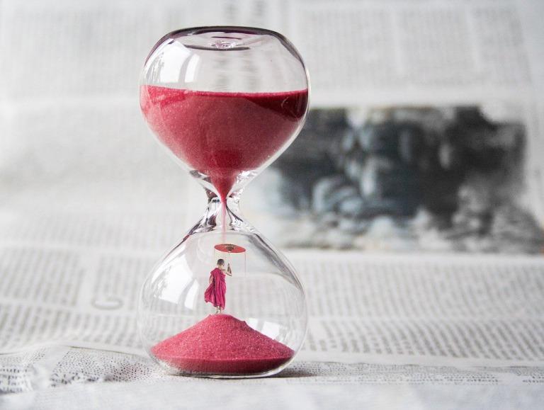 命の砂時計